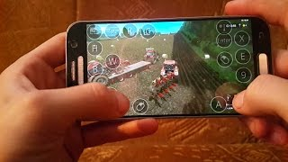 Farming simulator 2017 multiplayer on android(samsung galaxy s7) GemeindeRade map