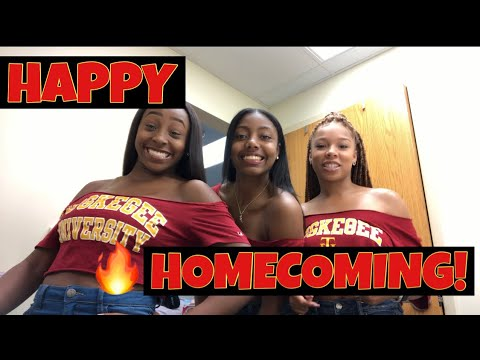 College Vlog #3: TUSKEGEE UNIVERSITY HOMECOMING!