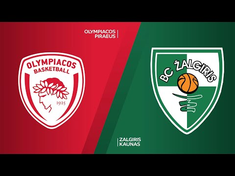 Olympiacos Piraeus - Zalgiris Kaunas Highlights | Turkish Airlines EuroLeague, RS Round 1