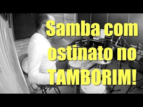 Drum Lesson - Samba com ostinato no tamborim