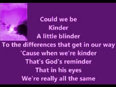 Karen Taylor-Good - Kinder (with lyrics 2001)