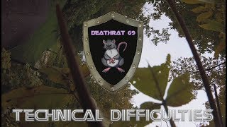 Ripping a new spot   DEATHRAT69 gets hung up in a tree   No Problem for the XLABS Steez