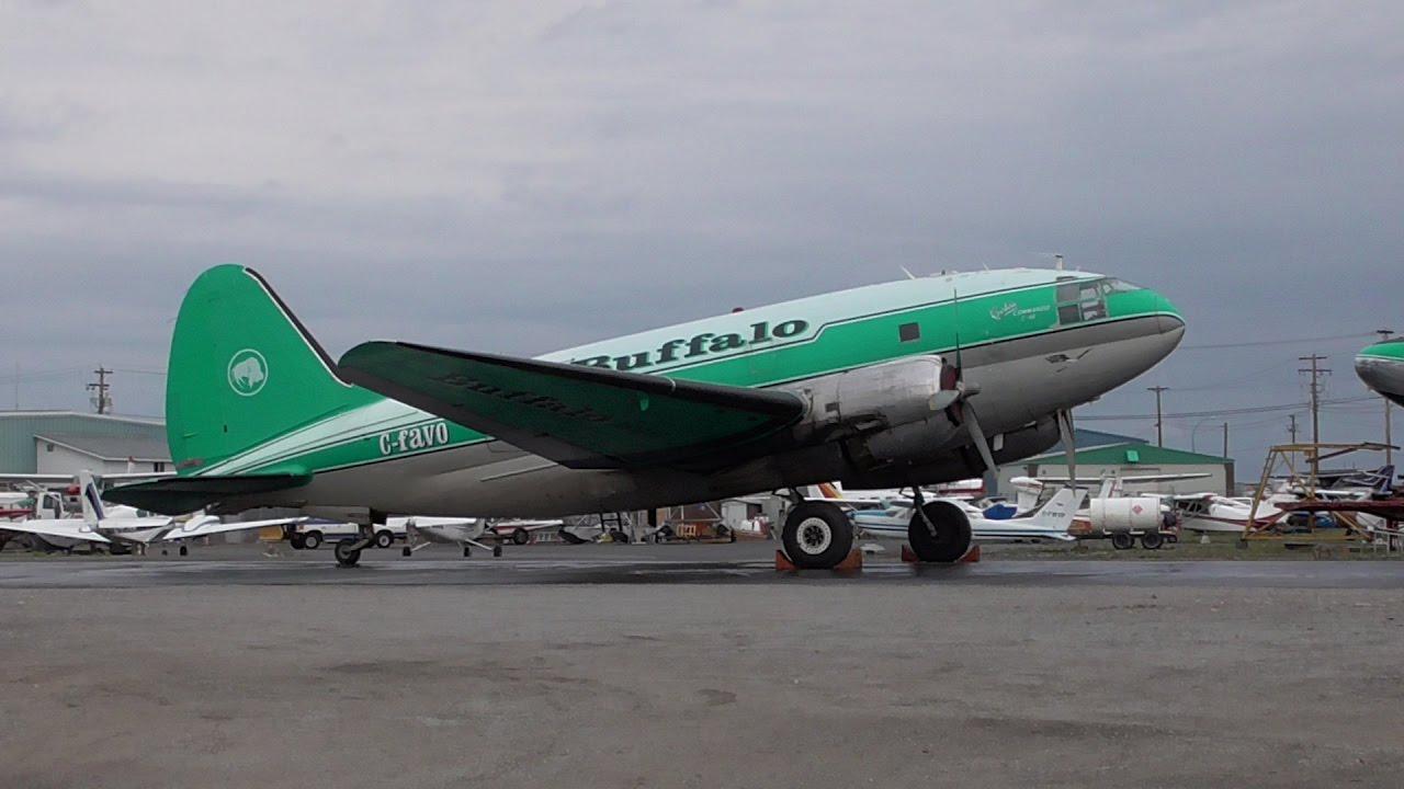 Buffalo airways planes