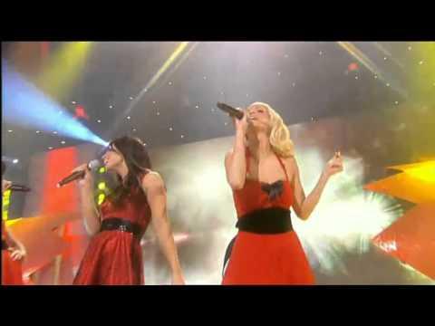 Клип Girls Aloud - Jingle Bell Rock