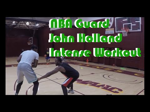Loyal to the Gym series: Train like NBA Guard John Holland