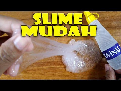 Cara Membuat Slime 3 Bahan Saja