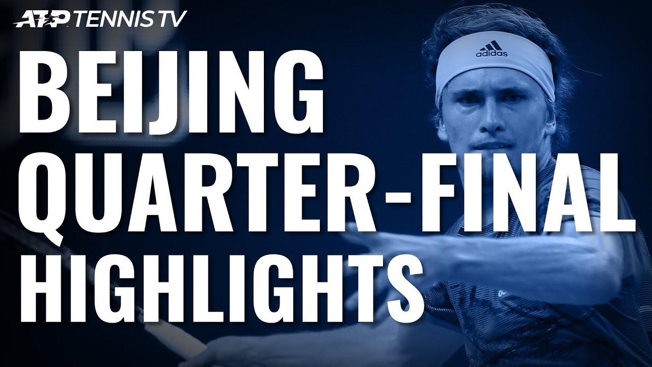 Thiem Ends Murray Run Zverev To Meet Tsitsipas In Last Four Beijing 2019 Quarter Final Highlights