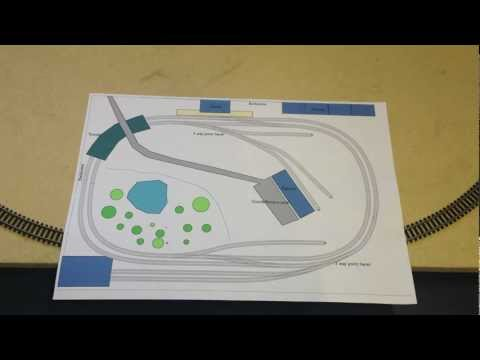 N gauge Model Railway Layout introduction