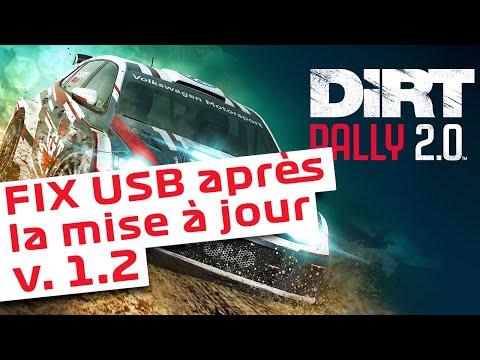 Dirt Rally 2.0 -  V1.2 - Fix Périphériques (Shifters/Handbrake/...) non reconnu
