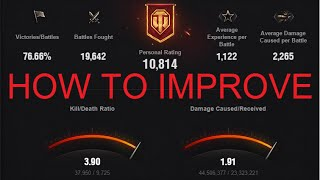 World of Tanks | 5 Tips to become a better player & improve your winrate / wn8
