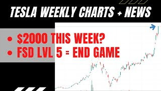 Tsla stock weekly analysis series aims to help give a better insight and tesla news update both good or bad for tsla. is an amazing growth compan...