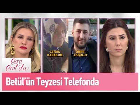 Betül'ün teyzesi Deniz Hanım telefonda - Esra Erol'da 18 Şubat 2019