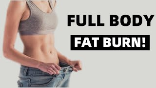 Gambar cover 8 min Intense Full Body FAT BURNING HIIT | Lose Weight At Home, Beginner Friendly ( Eng Sub)