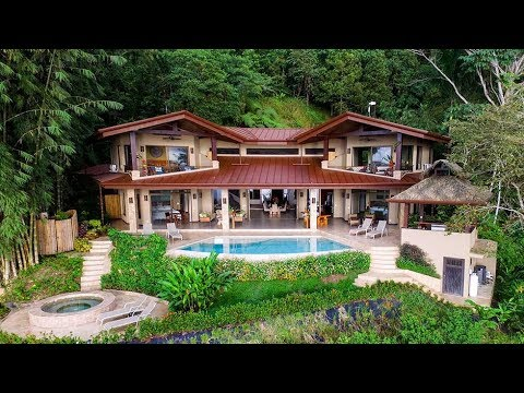 Casa Bambú - Luxury Home in the Rainforest Dominical Costa Rica