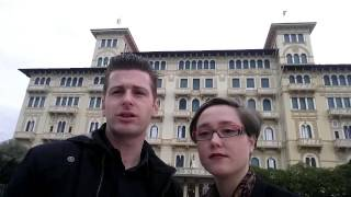 Grand Hotel Royal: a spasso nelle sale del lusso della passeggiata di Viareggio