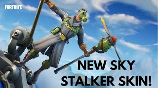 FORTNITE | DUO WIN WITH NEW SKY STALKER SKIN!