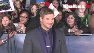 Kellan Lutz arrives at Twilight Saga Breaking Dawn Part II World premiere