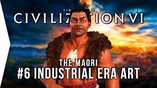 Let's Play Civ 6 Gathering Storm ► #6 Maori Industrial Art & Tourism! - [Civilization VI Gameplay]