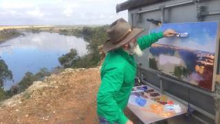 Plein Air Long Weekend on the Mighty Murray River!