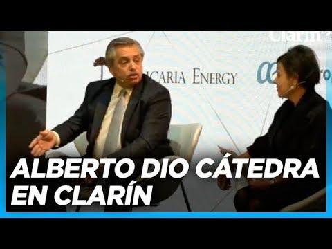 Entrevista completa a Alberto en Clarín