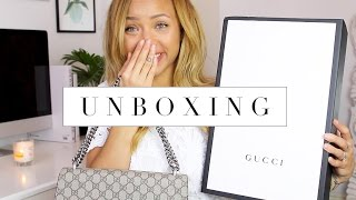 GUCCI UNBOXING & MINI HAUL | Office, Monki, Free People