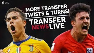 Maguire & Dybala: Both Left Out! | Man United Transfer News