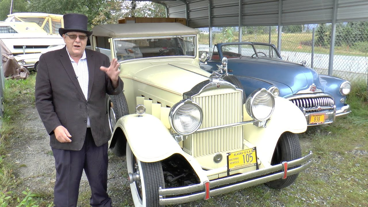 Auction of 1930 Packard touring car part of Alcan Highway history ...