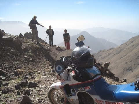 [Slow TV] Motorcycle Ride - Morocco - Marrakesh to Oukaimeden