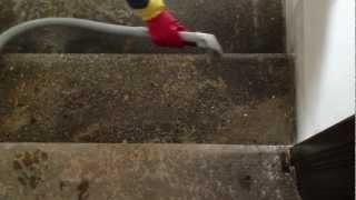 Vyčistím CZ - NANO čištění pískovcových schodů