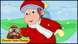 Curioso come George ⛄Episodi di Natale - A Gonfie Vele nella Neve 🎄Cartoni 🐵George la Scimmia