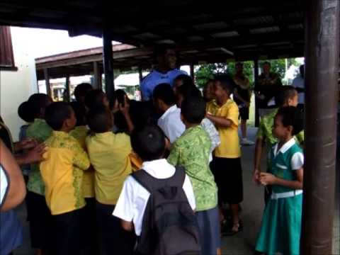 On the road to safety @ Suva Methodist Primary School