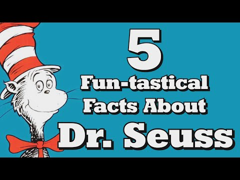 5 FUN-tastical Facts About Dr. Seuss!