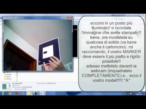 ARToolKit MMD tutorial italiano