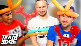 BALLOON ANIMAL CHALLENGE!!