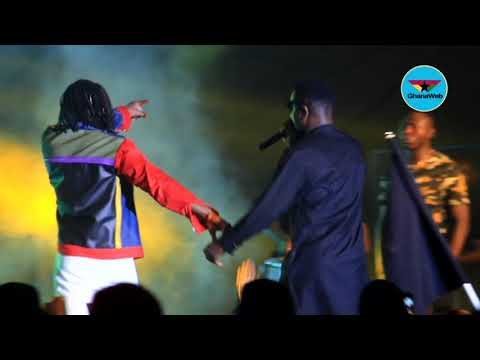 Sarkodie and Stonebwoy's iconic collaboration at Bhim Concert