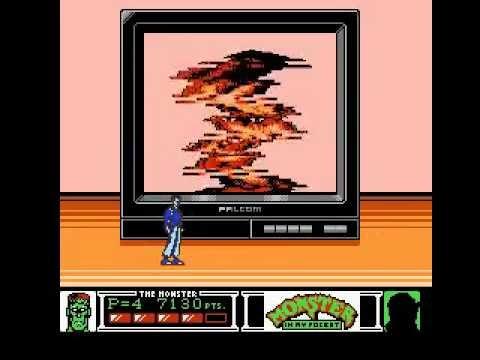 Monster in my Pocket (NES) LongPlay