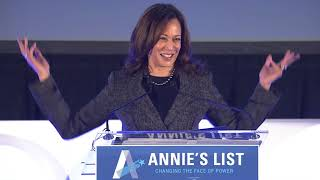 2017 Annie's List Dallas Luncheon Address by Senator Kamala Harris