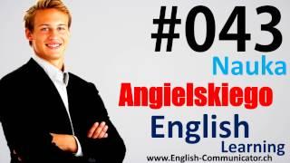#43 Kurs języka angielskiego Słownictwo English Głogów Lower Silesian Przemyśl Wałcz CAE