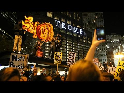 Progressives Should Protest at Donald Trump