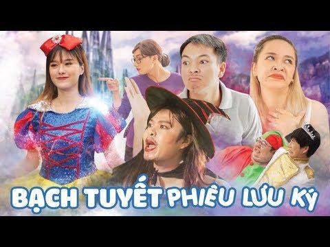 Bạch Tuyết Phiêu Lưu Ký | Parody Nhạc Chế Anh Nhà Ở Đâu Thế | Nhung Phương x Việt Johan | muối tv