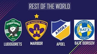 FIFA 19 - NEW LEAGUES & CLUBS WISHLIST !!