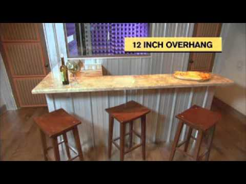 Elegant Building A Home Bar   TheRTAStore.com DIY Download   YouTube