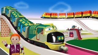 Cartoon Cartoon - Thomas The Train - Train Videos - Kids Videos for Kids - Toy Factory - कार्टून