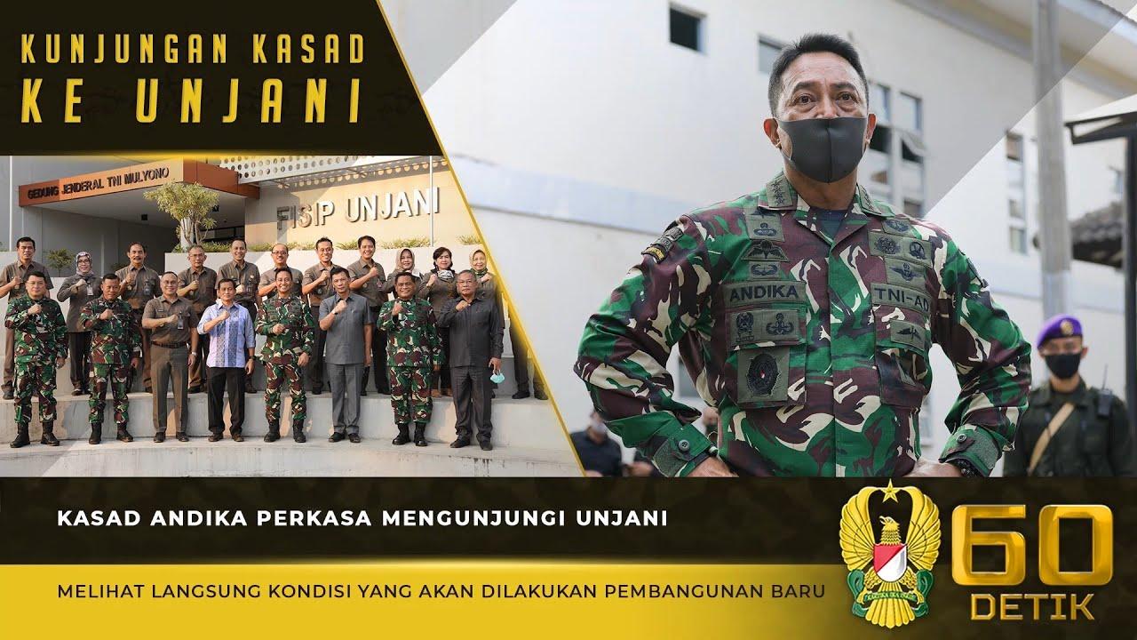 """Pembangunan ICT dan Fisik UNJANI Harus Selaras   60"""" TNI AD"""