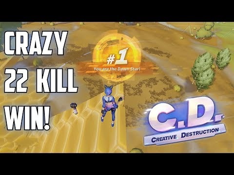 CRAZY 22 KILL GAME! - Creative Destruction