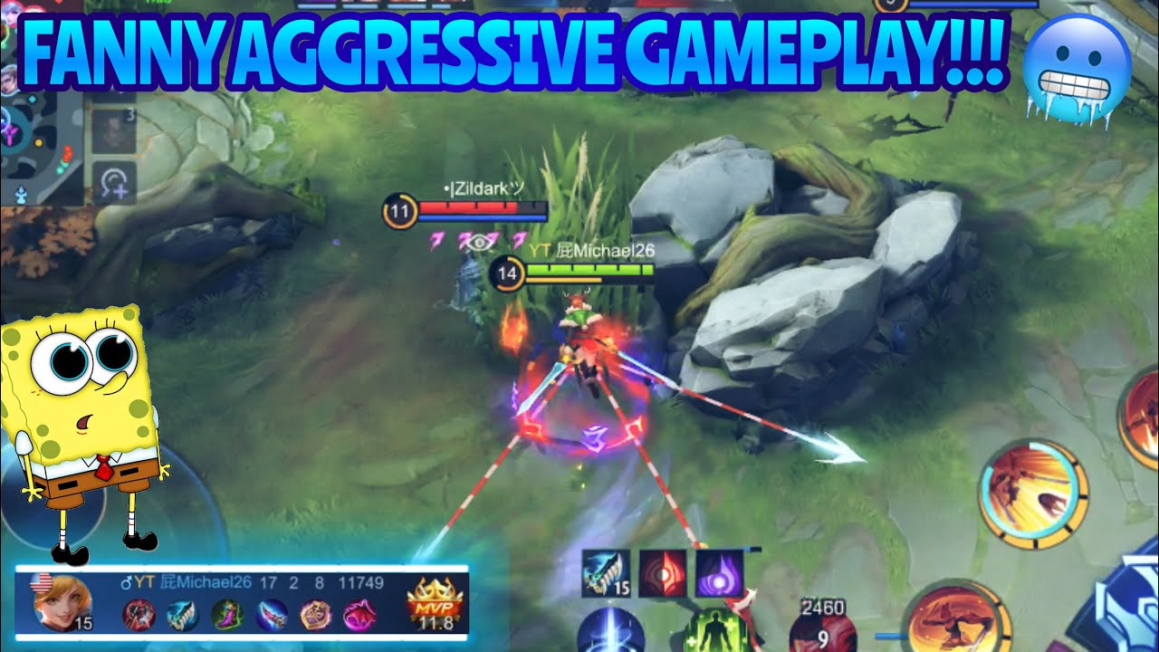 FANNY AGGRESSIVE GAMEPLAY!!!   Incredible Cables by MICHAEL26 - MLBB
