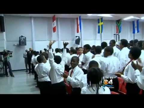 Congresswoman Frederica S. Wilson Talks About Life Lessons at Brownsville Middle School