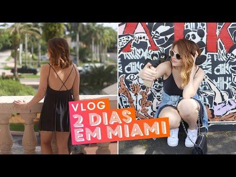 Vlog Miami: Biltmore Hotel, Jungle Island, Wynwood, Aventura Mall... • Karol Pinheiro