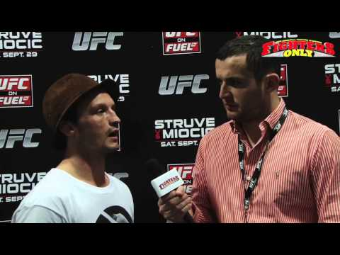 UFC on Fuel TV 5: Brad Pickett Post Fight Interview
