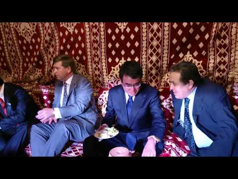 Taro Kono Japanese Minister of Foreign Affairs to Dr. Imad Ajami exclusive The Link
